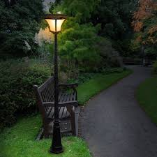Patio Post Lights Solar Patio Lights An Inexpensive Way To Brighten Up Your Garden