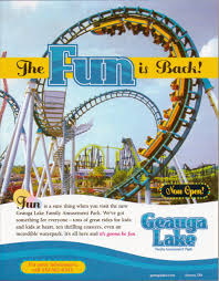 Cedar Fair Parks Map Newsplusnotes From The Vault Geauga Lake 2004 Ad