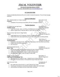 education resume template resume template career change copy elementary resume
