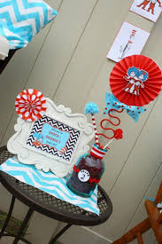 dr seuss baby shower decorations kara s party ideas thing one thing two dr seuss themed birthday