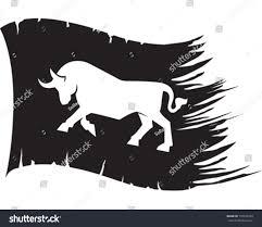 Bull Flag Bull Flag Stock Vector 150236270 Shutterstock