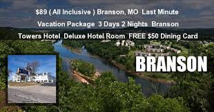 discount branson last minute getway specials resort deals