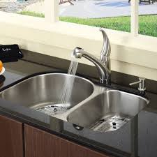 sinks and faucets chrome soap dispenser kitchen sink kitchen