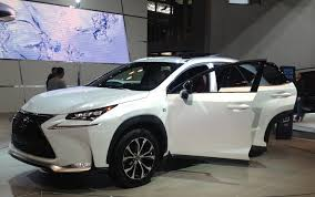 toyota lexus 2015 surprise ny auto show appearance new 2015 lexus nx crossover