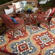 mohawk home mystic ikat indoor outdoor nylon rug multi colored