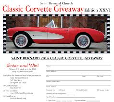 vintage corvette drawing video last chance to win a u002757 corvette fuelie in saint bernard u0027s