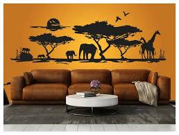 Schlafzimmer Ideen Afrika Wandgestaltung Afrika