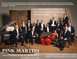 pink martini poster pink martini u2013 on the fly with pink martini and the nashville