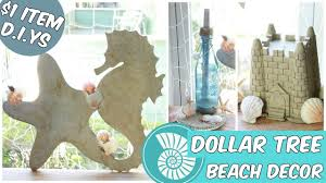 dollar tree beach home decor easy d i y tutorial youtube