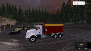 Kenworth Dump Bed Version 2 Revision V1 Ls15 Farming Simulator