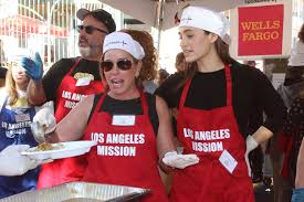 rossum los angeles mission thanksgiving meal for the homeless