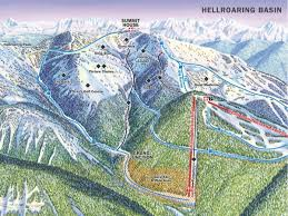 Colorado Ski Resort Map by Overview Of Whitefish Mountain Resort Montana Snowpak