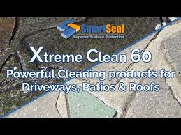 Moss Cleaner For Patios How To U0027 Easy Clean Algae U0026 Lichens From Dirty Patios Driveways