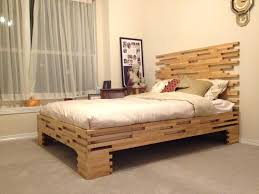Headboards Bed Frames Wood Bed Frames And Headboards Wood Platform Bed Frame No