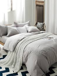 light grey comforter set soft bedding sets inspire elegant light grey super 4 pcs set 37141 0