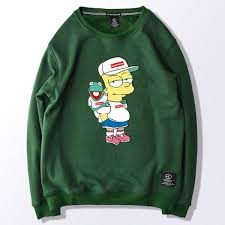 bart sweater bart x kermit supreme sweater o neck clothing shoes in