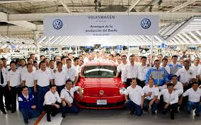 production of 2012 volkswagen new beetle starts in mexico