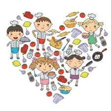 cours de cuisine pour enfant cours de cuisine banque d images vecteurs et illustrations libres