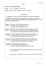 Unjumble Words Worksheets Let U0027s Talk About The Seasons Worksheet Free Esl Printable