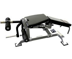 Bench For Working Out Lying Leg Curl Exercise Machine For Working Out At The Gym