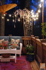 102 best patio lights images on balcony terraces and
