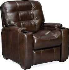 latham media recliner with cup holder leather reclining sofa cup