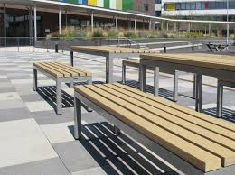 composite benches parallel picnic benches u0026 tables for outdoor dining