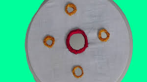 mirror stitching works round design shapes easy tutorial hand mirror stitching works round design shapes easy tutorial hand embroidery designs by ark craft works