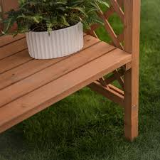 arbor bench plans coral coast dalton 6 9 ft wood arbor with bench hayneedle