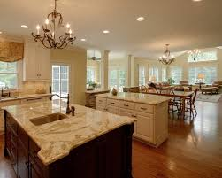 large kitchens design ideas small open plan kitchen living room design pictures remodel