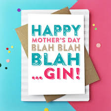 happy s day cards happy s day blah gin greetings card by do you punctuate