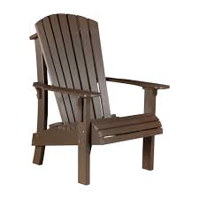 senior height adirondack chair luxcraft poly furniture