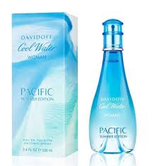 halloween freesia cool water pacific summer perfume by davidoff 3 4 oz edt spray for