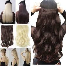 one clip in hair extensions one hair extension ebay