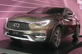 infiniti jeep new infiniti qx30 uk prices and on sale date announced auto express