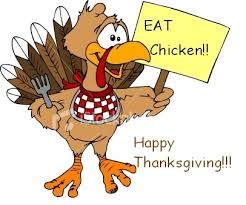 eat chicken happy thanksgiving thanksgiving myniceprofile