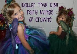 Fairy Costumes Diy Dollar Tree Costumes Fairy Wings U0026 Crowns Youtube