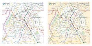 Paris Subway Paris Metro Map U2013 The Redesign U2014 Smashing Magazine