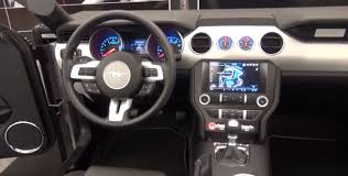 mustang 2015 inside 2015 ford mustang interior design pic and