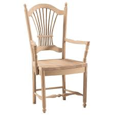 back arm chair