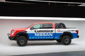 nissan cummins lifted 2016 nissan titan xd diesel u2013 built for sema