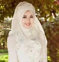 tutorial hijab syar i untuk pengantin gaun pengantin hijab model termewah untuk muslimah model baju