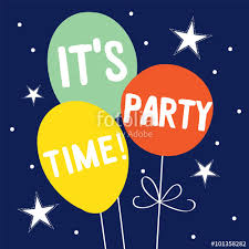 birthday balloon design perfect for your birthday invitation
