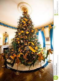 white house christmas tree stock image image 12554911