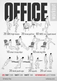 exercises to do at your desk for every 20 minutes of sitting at your desk get up pace for 1 5