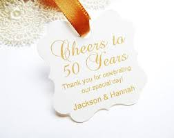 50th anniversary guest book personalized golden anniversary etsy