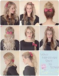 easy hairstyles for school trip easy hairstyles for school archives best haircut style