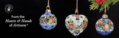 pottery ornaments handmade ornaments uno alla