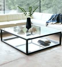 Steel And Glass Coffee Table Steel And Glass Coffee Table Beaconinstitute Info