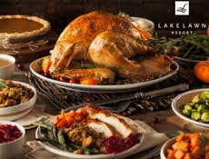 thanksgiving feast buffet lake lawn resort